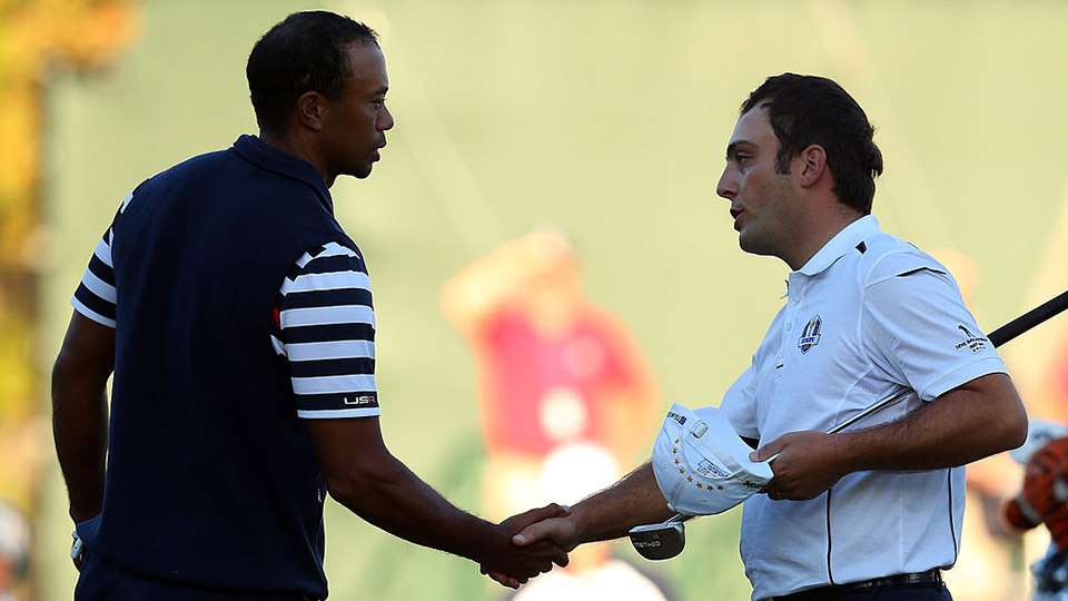 In the final match, Tiger Woods picked up Molinari's ball mark, handing the Euros the Cup. Was it great sportsmanship, or an act of pique from a guy who wanted to get the hell off the course?