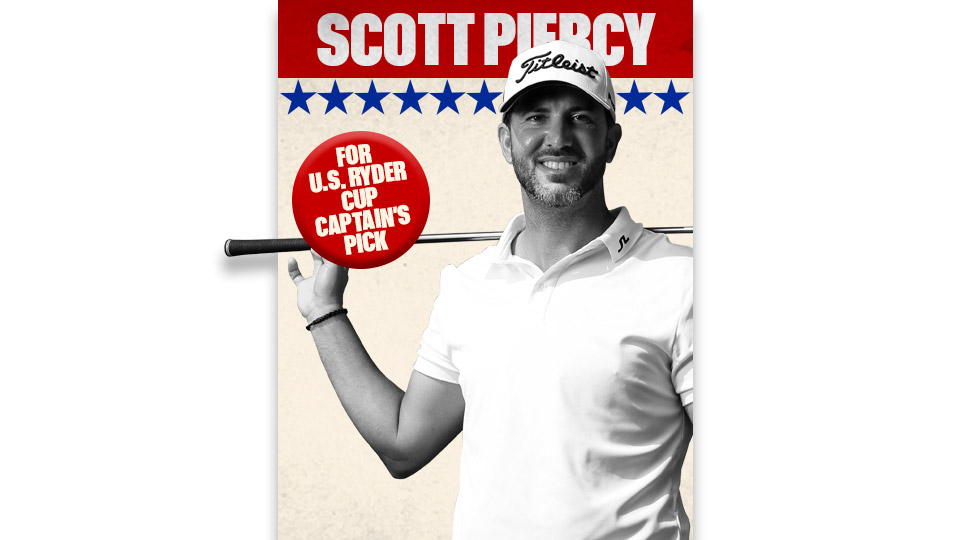 Scott Piercy is currently 13th in the U.S. Ryder Cup standings.