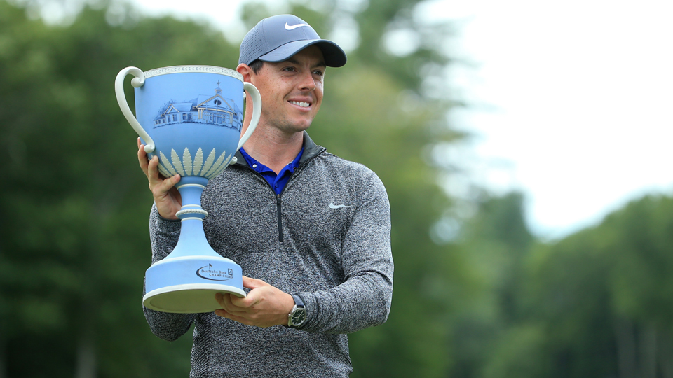 Rory McIlroy is back in the top three in the world ranking.