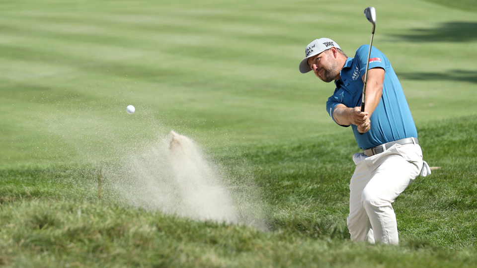Ryan Moore (pictured) and Kevin Chappell both tied for eighth at the Deutsche Bank Championship, further complicating the choices for U.S. Ryder Cup captain's picks.