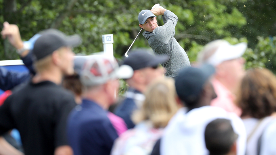 Rory McIlroy won the Deutsche Bank Championship to vault to No. 3 in the Official World Golf Ranking, one spot ahead of Jordan Spieth.