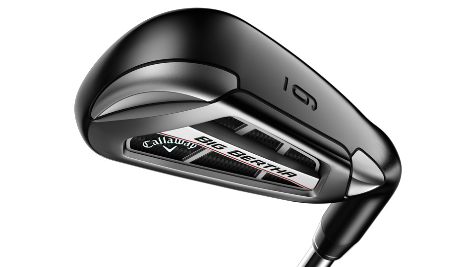 The sole of the new Callaway Big Bertha OS irons.