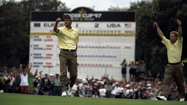 Relative unknowns such as Jesper Parnevik and Per-Ulrik Johansson (in 1997) have repeatedly broken American hearts.