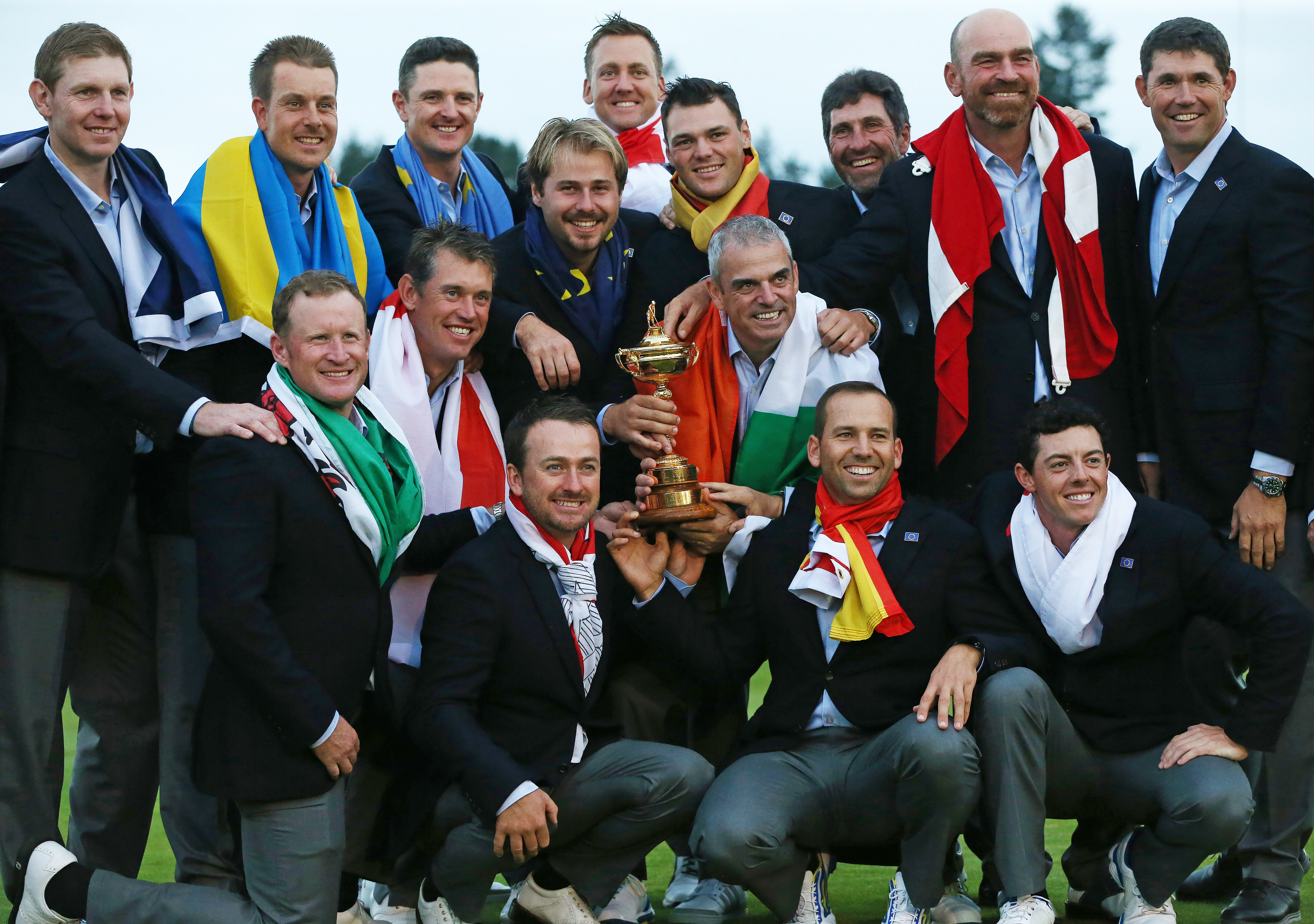 The Ryder Cup was opened to all of Europe in 1979.