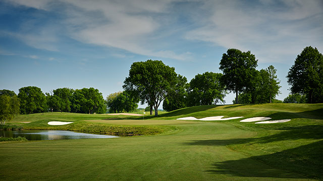 The 16th hole, which typically plays as the 7th during member play, will be a critical match play hole.