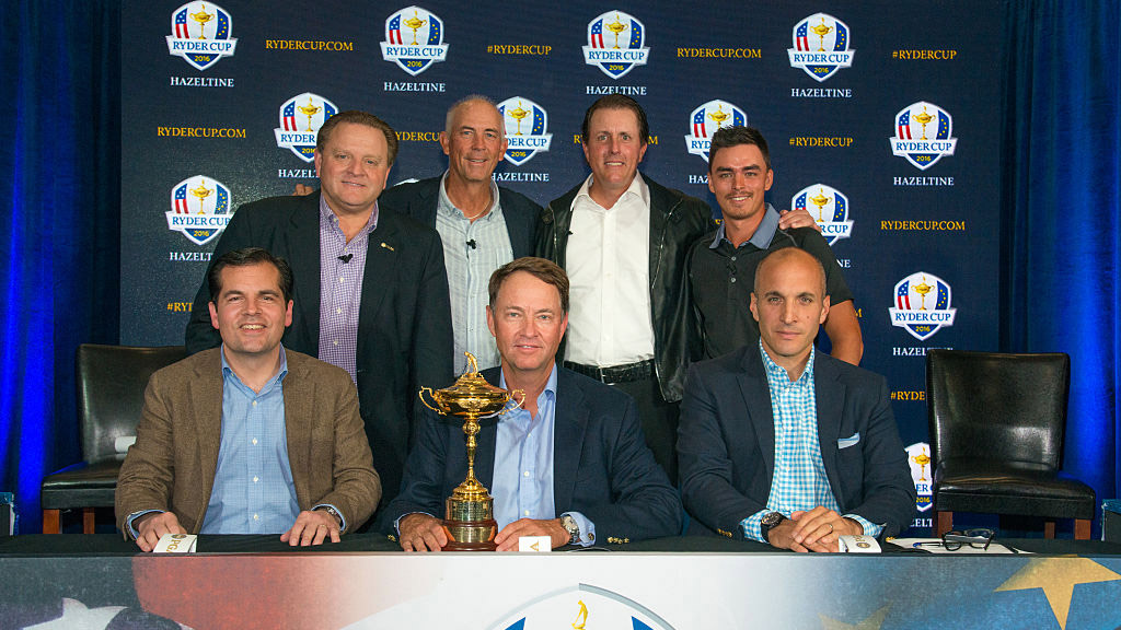 Tom Lehman is one of four vice captains for the 2016 American Ryder Cup team. He'll be joined by Tiger Woods, Jim Furyk, and Steve Stricker.