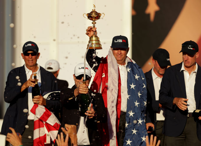 The win is also a victory for the newly minted Ryder Cup Task Force, of which Davis Love was a major proponent.