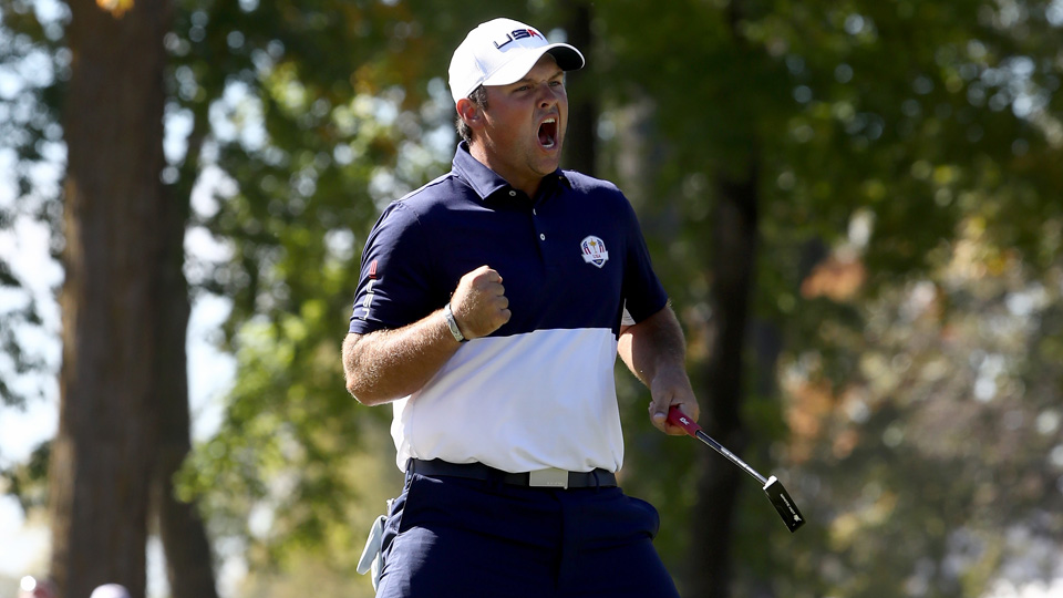 Patrick Reed backed up his strong 2014 Ryder Cup with an even better one in 2016.