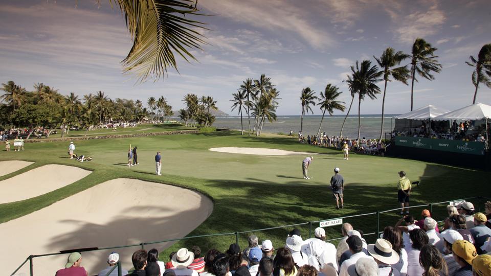 Waialae Country Club in Honolulu is the Sony Open host.