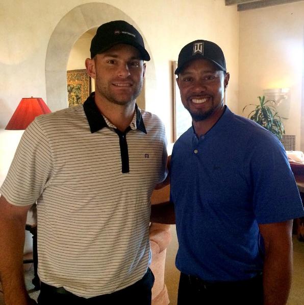 Tiger Woods & Andy Roddick