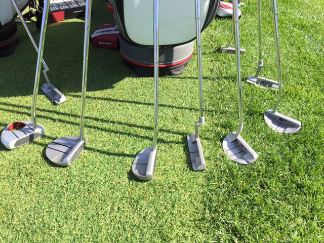 The new TaylorMade TP putter line.