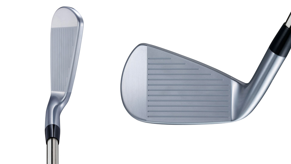 The JGR CB at address and a look at the face of the new iron.