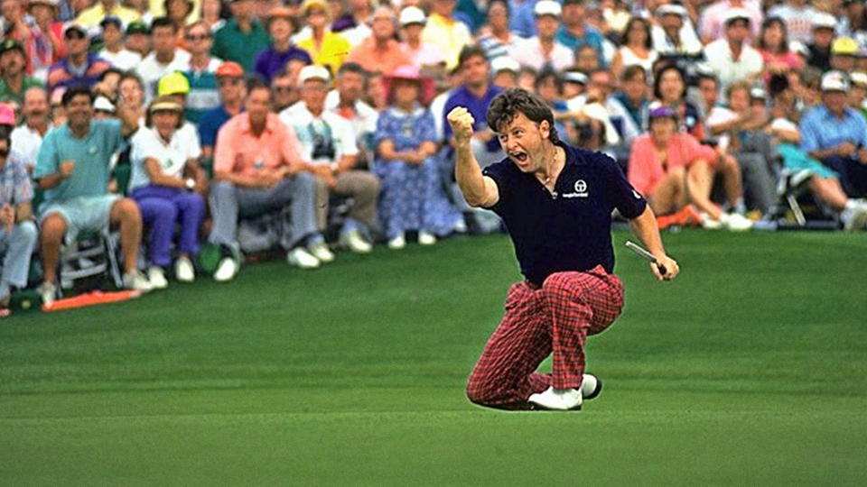 Ian Woosnam, celebrating after his winning putt at the 1991 Masters, is bound for the Hall of Fame.