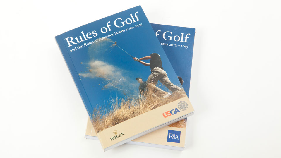 Playing by the book is giving golf a bad name.