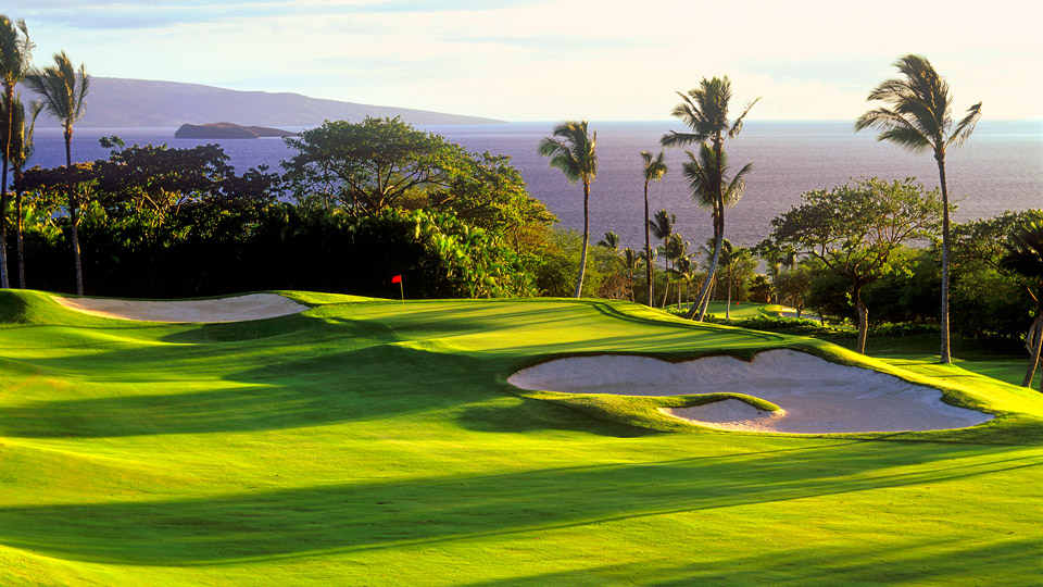 Even the ugliest shot can't blunt the beauty of Wailea Emerald.