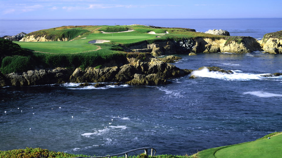 The 16th at Cypress Point. Umm, can I get a mulligan?