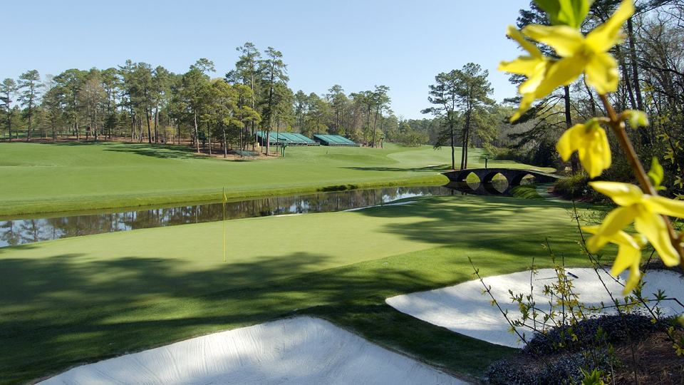 The most terrifying hole in the world, Augusta National's par-3 12th.