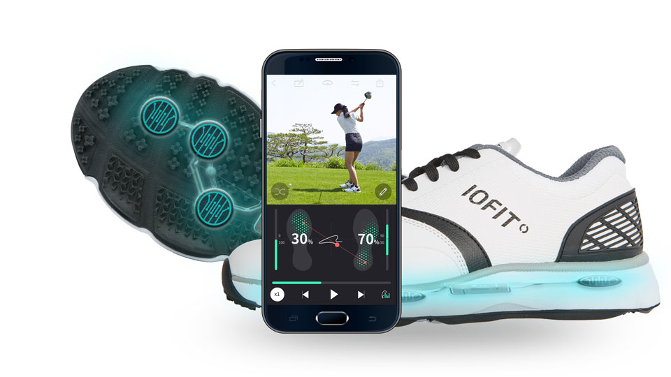 Samsung's new IOFIT footwear and app are a window to the sole—and to your swing.