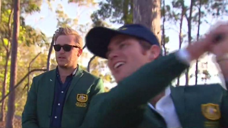 Morgan Ruig and Evan Shay as seen in Nine News Australia's video report.