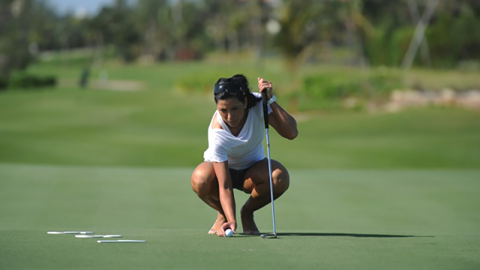 Ghilzon also participates in Women With Drive, an organization aimed at getting more women involved in the game of golf.