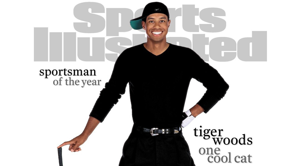 Tiger Woods was named Sports Illustrated Sportsman of the Year for the second time in 2000.