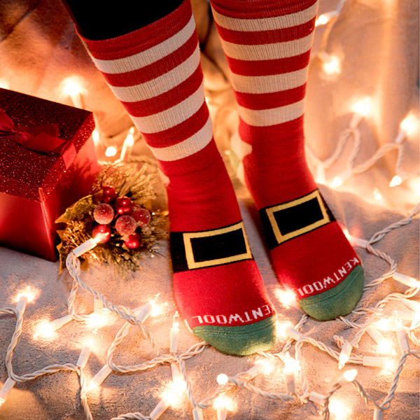 What could be a better stocking stuffer than a festive pair of socks? This month, Kentwool released a set of Santa-patterned golf socks in time for the holiday season. The socks come in both Tour Standard and Tour Profile styles (low or high ankle height)
