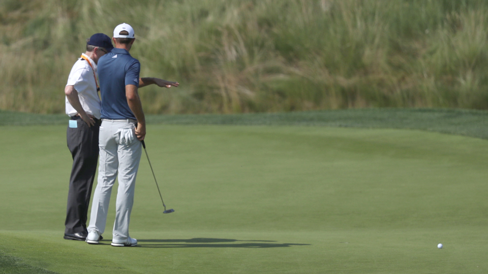 Dustin Johnson and the USGA took center stage at the U.S. Open.