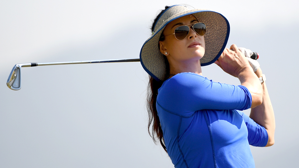 Russia's Maria Verchenova shot a 62 during the final round of the Olympics.