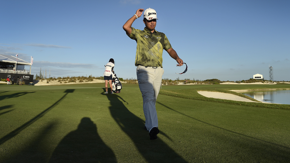 Hideki Matsuyama, at only 24, is starting to turn heads on Tour.