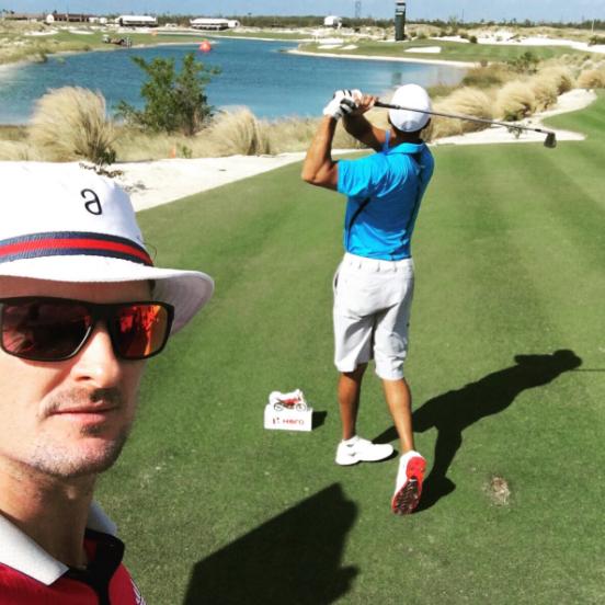Justin Rose & Tiger Woods