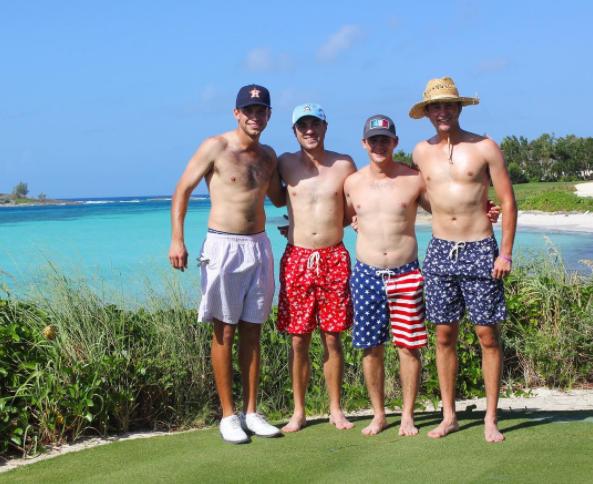 Cory Whitsett, Justin Thomas, Bud Cauley & Smylie Kaufman