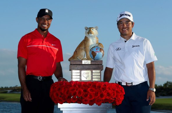 Tiger Woods & Hideki Matsuyama