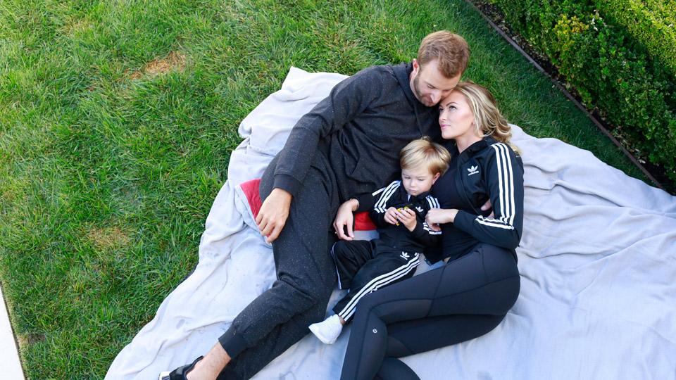 dustin johnson paulina gretzky family photos golfcom