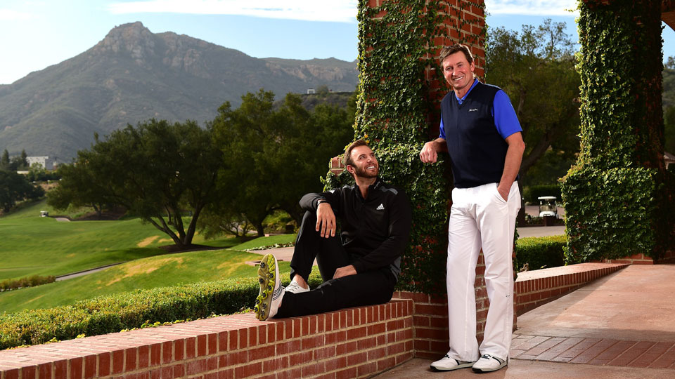Dustin Johnson is engaged to marry Wayne Gretzky's daughter, Paulina.
