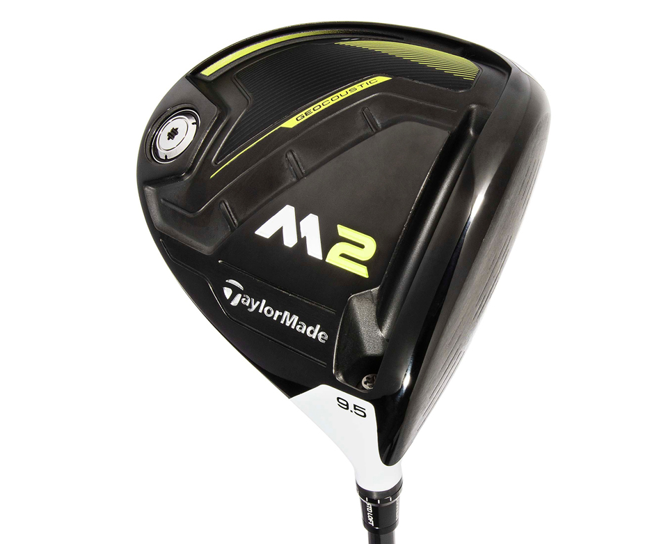 The TaylorMade M2 driver has carbon in the sole.