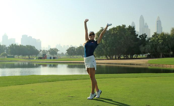 Paige Spiranac, Instagram Stars Descend On Dubai Ladies