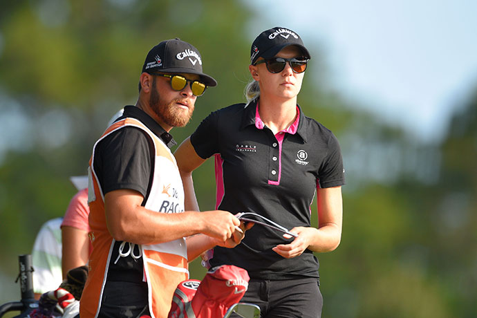 In her 14 starts on the Symetra Tour in 2016, Sagstrom had 11 top-10 finishes.