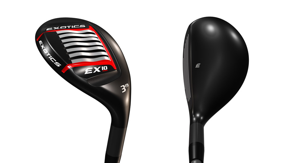 Tour Edge Exotics EX10 hybrid.