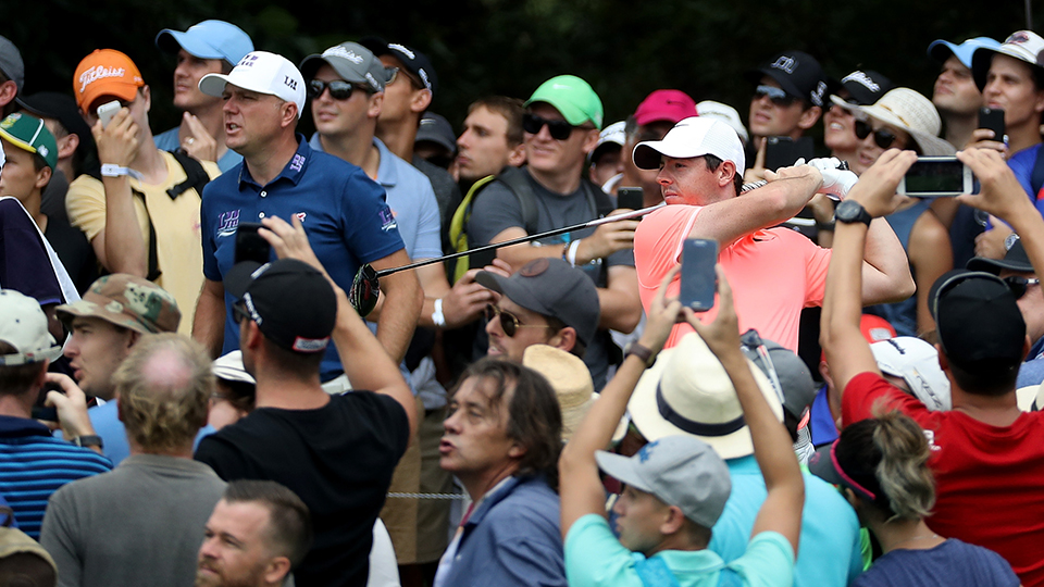 Rory McIlroy had a good performance in South Africa, but it ended with a lost playoff and a sore back.