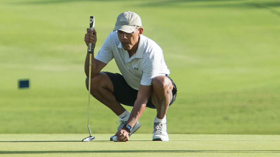 Just recently President Barack Obama revealed that he's a 13 handicap.