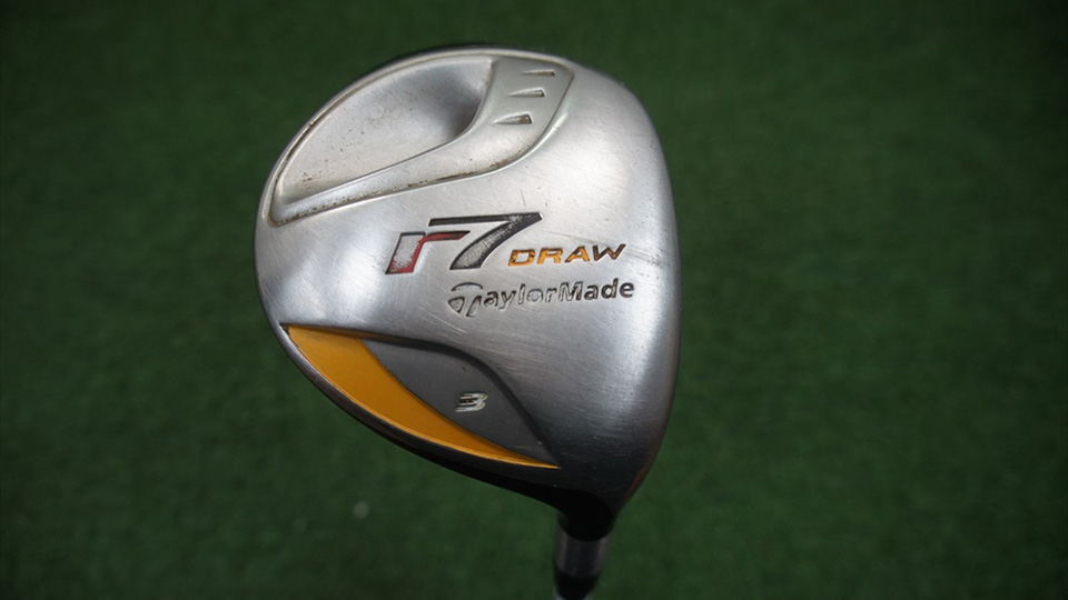 Bowditch has a TaylorMade R7 Draw fairway wood, similar to this one, in his bag.