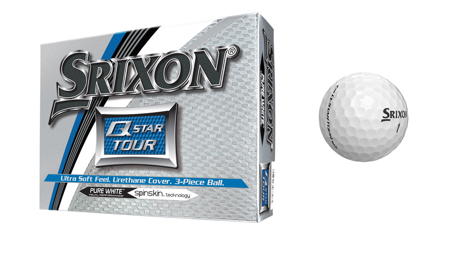 Srixon Q-STAR TOUR golf balls.