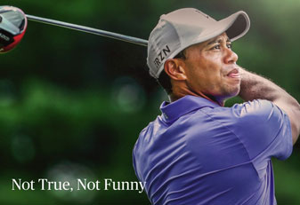 """All athletes know that we will be under scrutiny from the media. But this concocted article was below the belt,"" wrote Tiger Woods in his rebuke of Dan Jenkins."