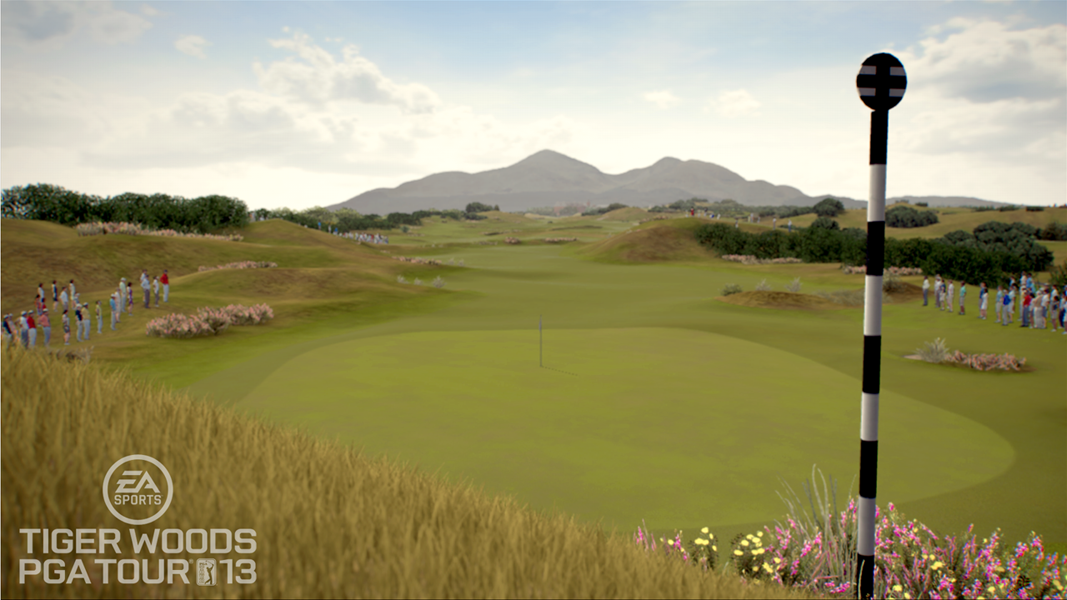 Royal County Down                       The game also features six new courses, including Royal County Down in Northern Ireland.