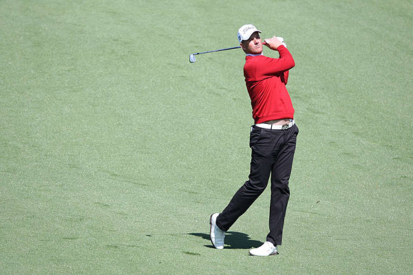 Karlsson finished T8 at last year's Masters.