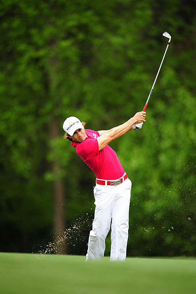 Camilo Villegas had back-to-back birdies on Nos. 12 and 13 to finish seven strokes off the lead.