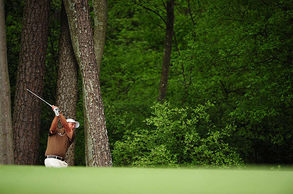 Mickelson is at three under par for the tournament.