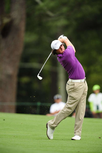 A double bogey on 16 and a triple on 18 pushed McIlroy back to one over par for the tournament.