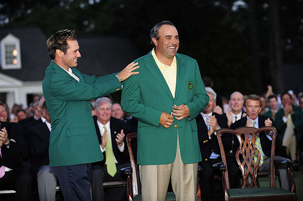 Final Round of the Masters                     Angel Cabrera won his second major tournament Sunday in a playoff against Kenny Perry and Chad Campbell.