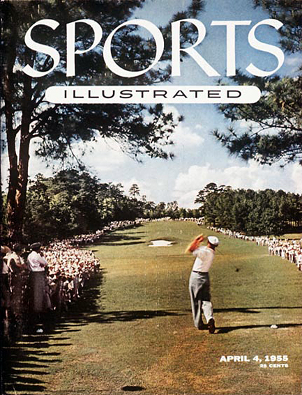 Ben Hogan at the Masters April 4, 1955